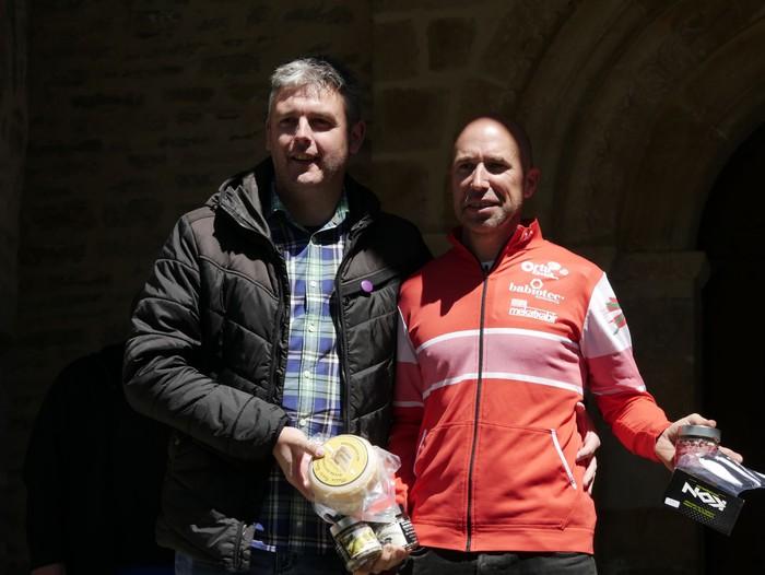 Zuriñe Frutosek eta Iñaki Isasik irabazi dute Aiarako Mendi Duatloia - 89
