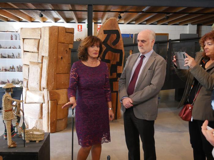 ONCE erakundearen omenezko lana jarri dute Santxotena Museoko Munduko Belenen Erakusketan - 16
