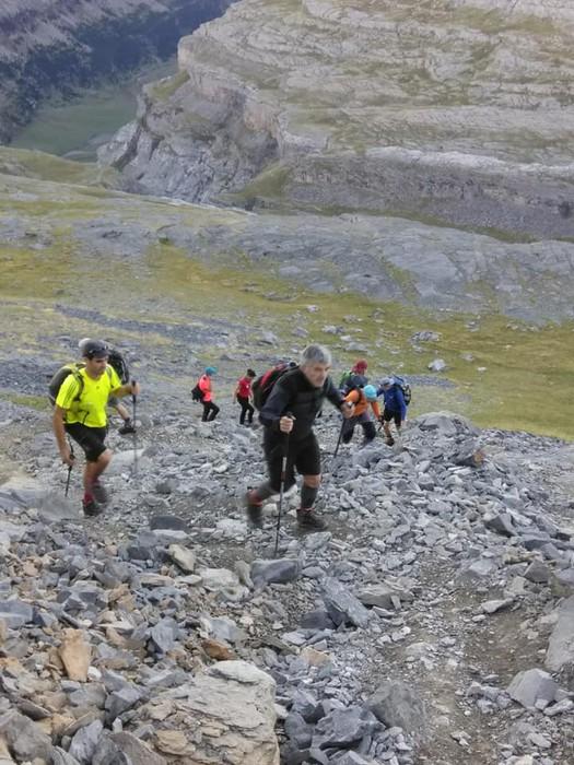 Monte Perdidon aritu dira Matxinkorta mendi taldeko kideak - 20