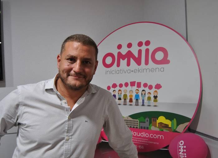 Alvaro Barrios izango da OMNIAren alkategaia 2019ko udal-hauteskundeetan