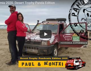 Paul Basabek Desert Tropy Pandan izandako esperientzia laburbildu dute bideo batean