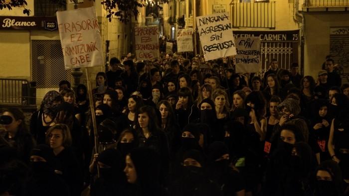 Ekimen ez-mixtoa egingo dute jaietan, eraso sexisten aurka