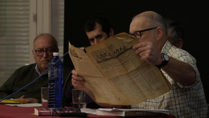 Interes handia sortu du Juan Ibarrola militar laudioarrari buruzko biografiaren aurkezpenak - 4