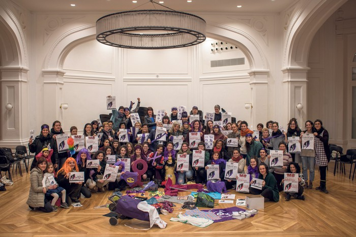 Greba feminista antolatzeko bilera deitu du Mugimendu Feministak