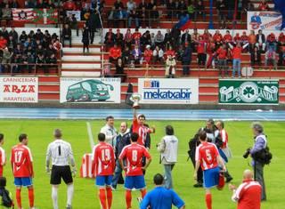 Ourenseren aurka galdu ondoren, Laudio 2.B mailara zuzenean igotzeko aukera zaildu da