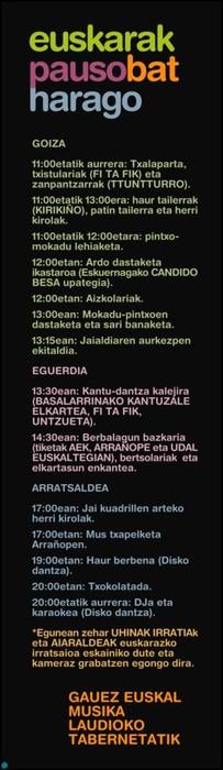 """Maiatzaren 22an """"Laudion Euskarak beste pauso bat harago"""" jaia ospatuko da - 2"""