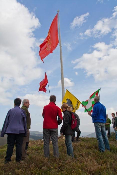 Nafarroako Erresumaren ikurra Arakaldon - 32