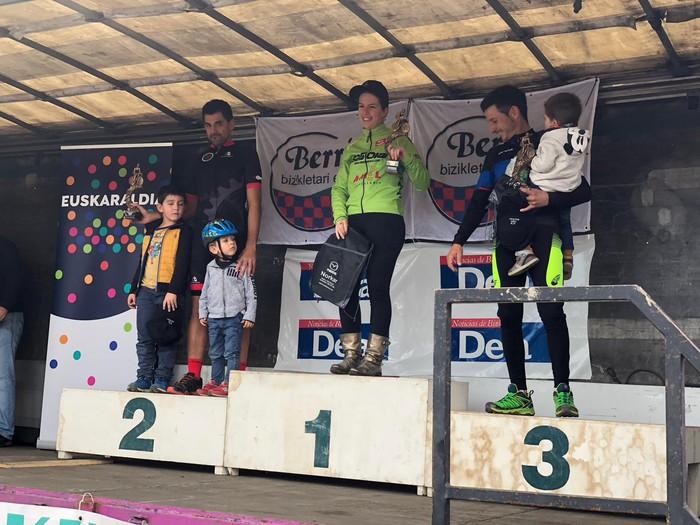 Iñaki Guarestik eta Gaizka Pujanak lortu zuten podiumera igotzea Berrizen - 3