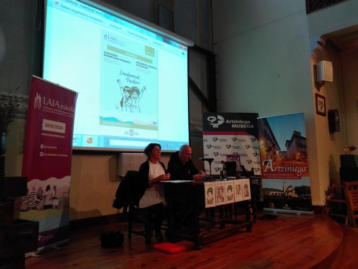Eskualdeko talde eta elkarte feministei aitortza egin zieten Berdintasun topaketan