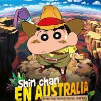 """Shin Chan en Australia. Tras las esmeraldas verdes"""