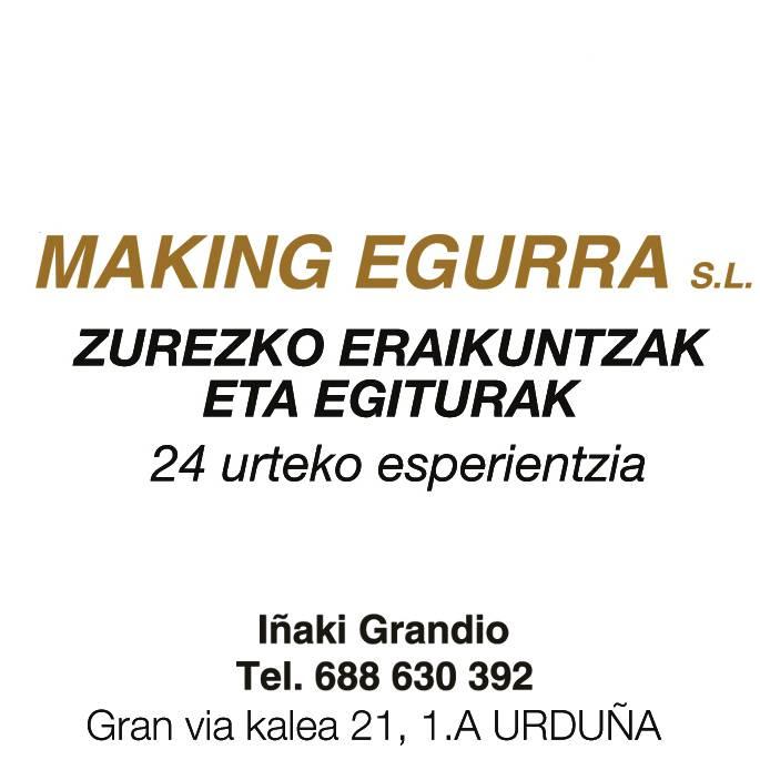 MAKING EGURRA logotipoa