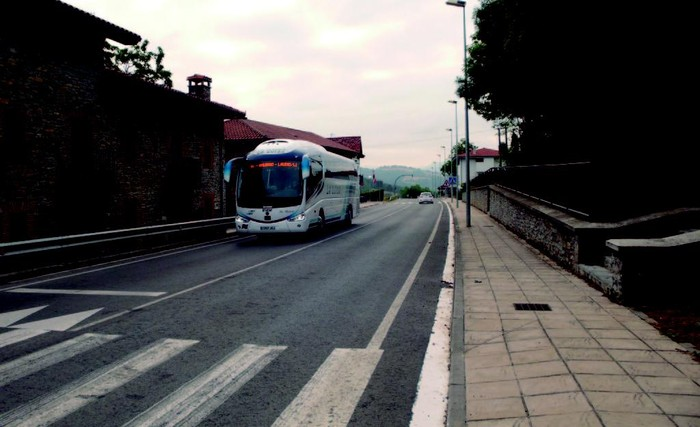 Autobus sare berria martxan da