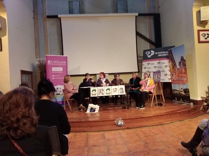 Eskualdeko talde eta elkarte feministei aitortza egin zieten Berdintasun topaketan - 12