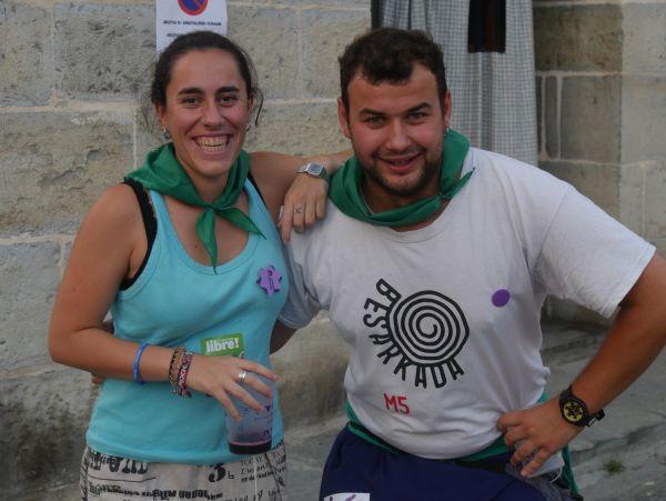 Ana Perezen pregoiari jarraiki, festarekin gaztetu da Artziniega - 13