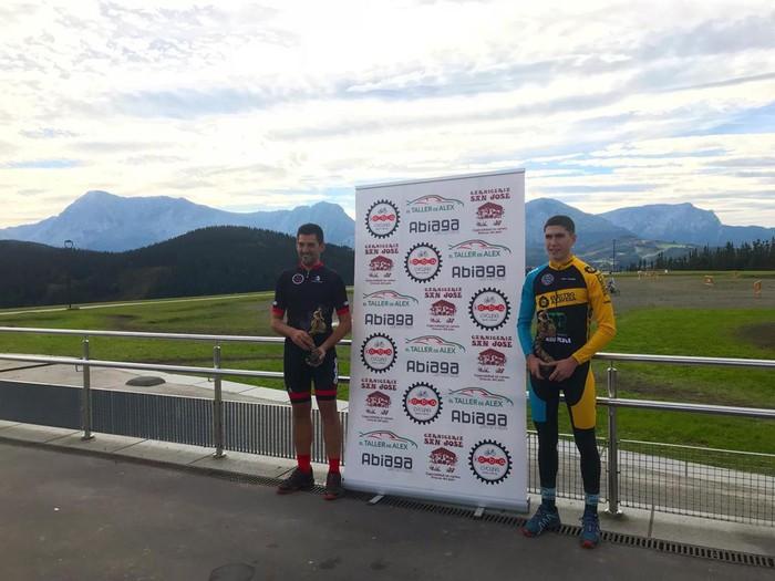 Iñaki Guarestik eta Gaizka Pujanak lortu zuten podiumera igotzea Berrizen - 2