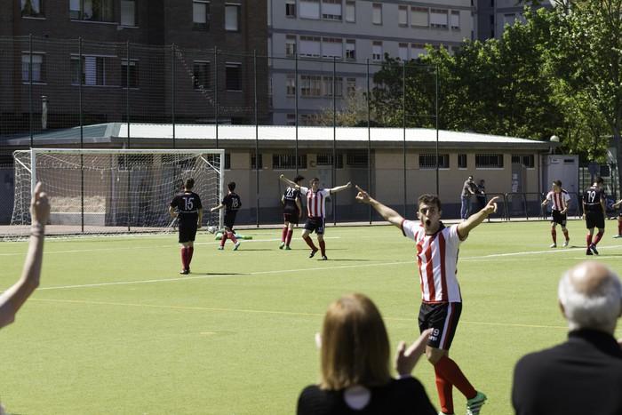 CD Laudioko gazteek lortu dute sailkapena Euskal Ligako play-offak jokatzeko - 10