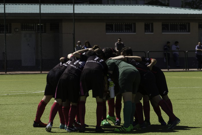 CD Laudioko gazteek lortu dute sailkapena Euskal Ligako play-offak jokatzeko - 16