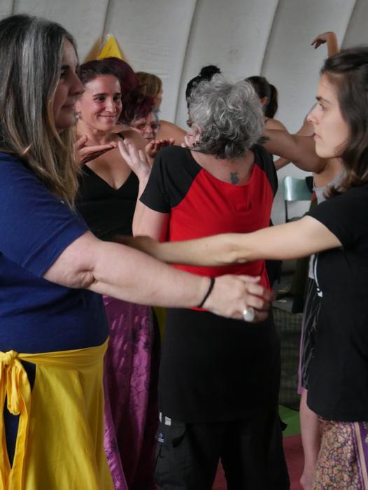 Aiaraldeko emakume feministen topaketa argazkitan - 98