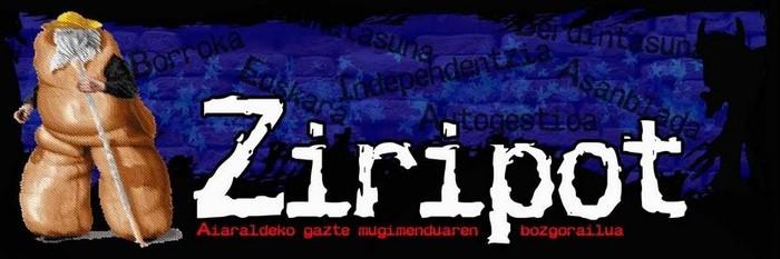 Abian da Ziripot, Aiaraldeko gazte mugimenduaren bozgorailua