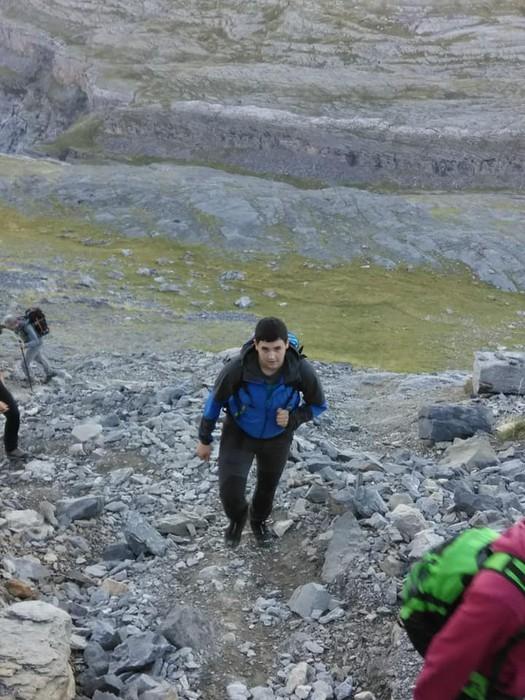 Monte Perdidon aritu dira Matxinkorta mendi taldeko kideak - 10
