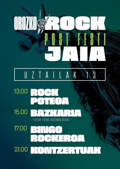 Orozkorock Post Festi Jaialdia