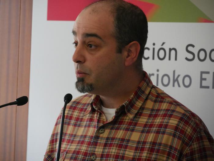 David Romero alkategaia aurkeztu du PSE-EEk Amurrion - 11