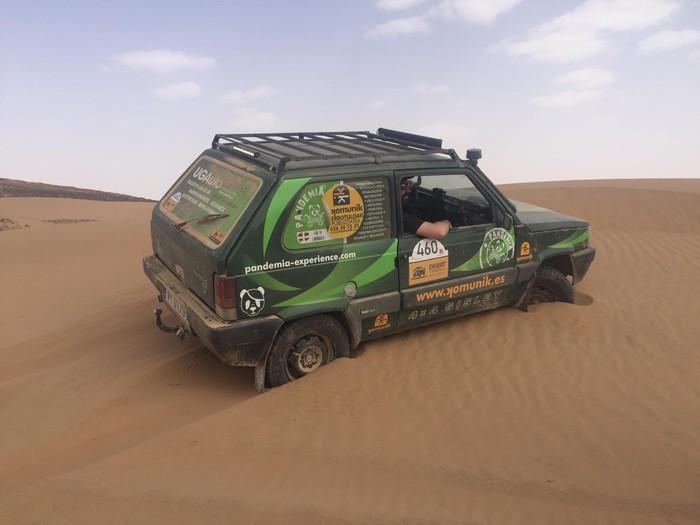 Desert Trophy Panda Edition lasterketa postu onetan bukatu dute eskualdeko parte-hartzaileek - 2