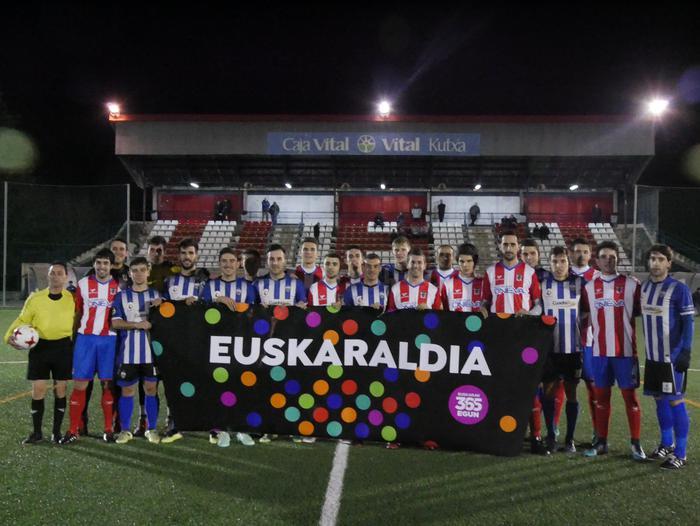 Amurrio Club eta CD Laudio batera, Euskaraldiarekin bat - 3