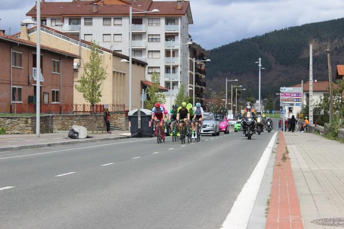 Euskal Herriko itzuliak eskualdeko errepideak hartu ditu - 22