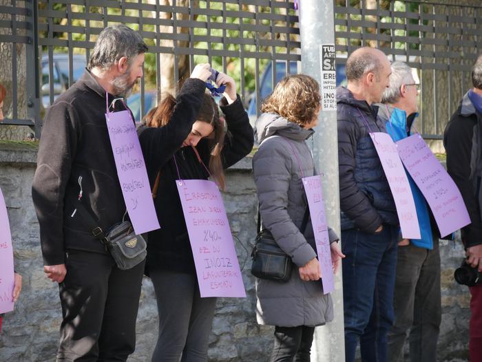 Indarkeria matxistaren aurka mobilizatu dira eskualde osoan - 15