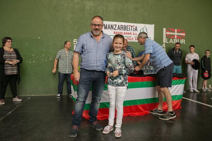 Herriko pilota txapelketa jokatu zuten asteburuan - 58