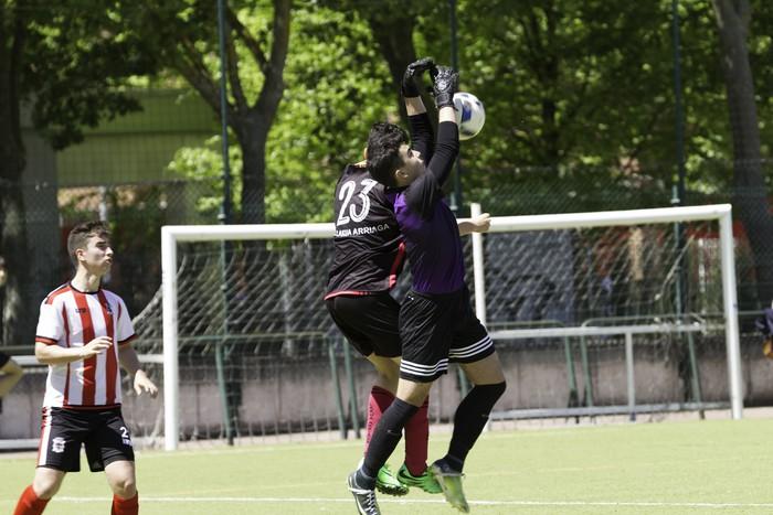CD Laudioko gazteek lortu dute sailkapena Euskal Ligako play-offak jokatzeko - 33