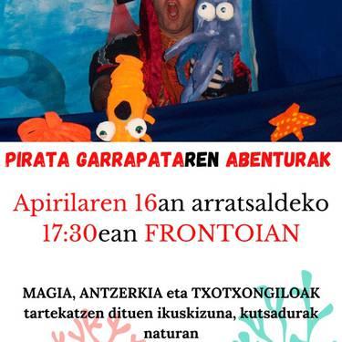 'Pirata Garrapataren abenturak'