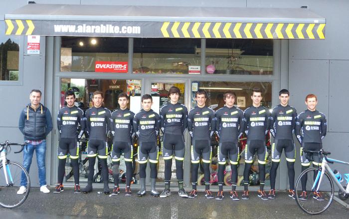 Nafarroako itzulian parte hartuko du Aiarabike-Trek-Electroalavesa taldeak