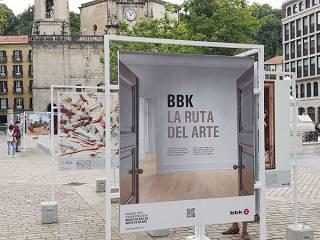 """Urduñan eskainiko da """"La Ruta del Arte BBK Artearen Ibilbidea"""" erakusketa urriaren 21etik 28ra"""