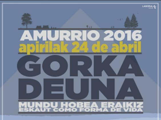 Amurriok Euskal Herriko eskauten jaia hartuko du asteburuan