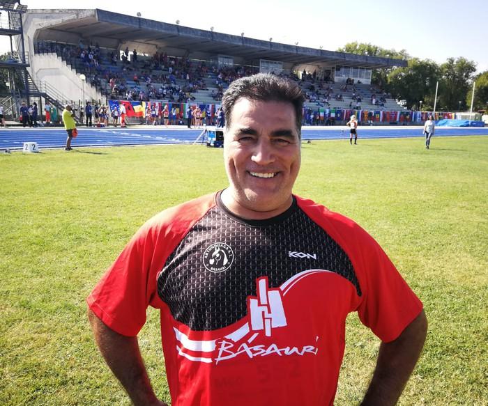 Manolo Hidalgo mailu jaurtiketako Espainiako txapeldunorde berria da