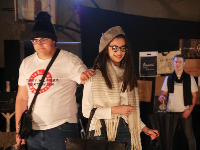 Ikasbidaia antolatzeko moda desfilea egin zuten ikastolan - 25