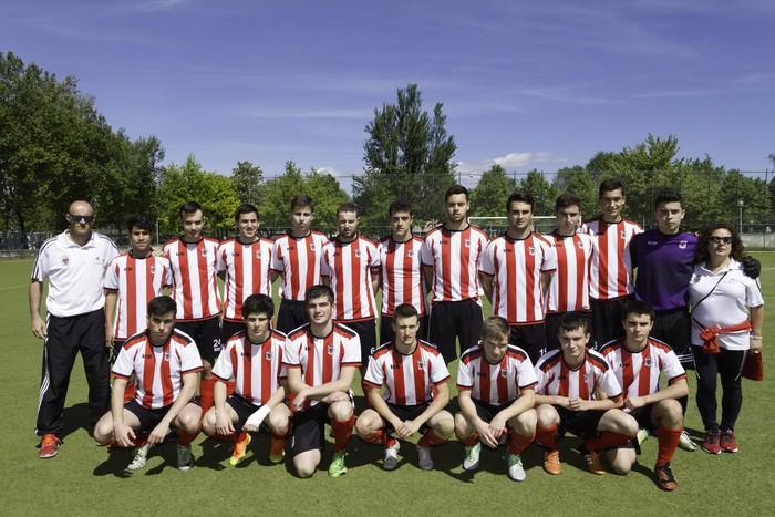 CD Laudioko gazteek lortu dute sailkapena Euskal Ligako play-offak jokatzeko - 11
