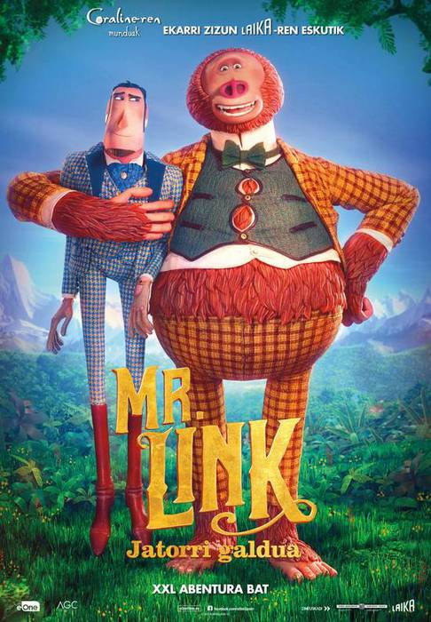 "Zinema: ""Mr. Link, jatorri galdua"""