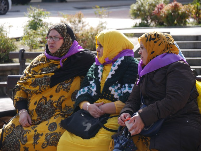 Ehunka emakume* grebalarik hartu dituzte Aiaraldeko kale eta plazak - 69