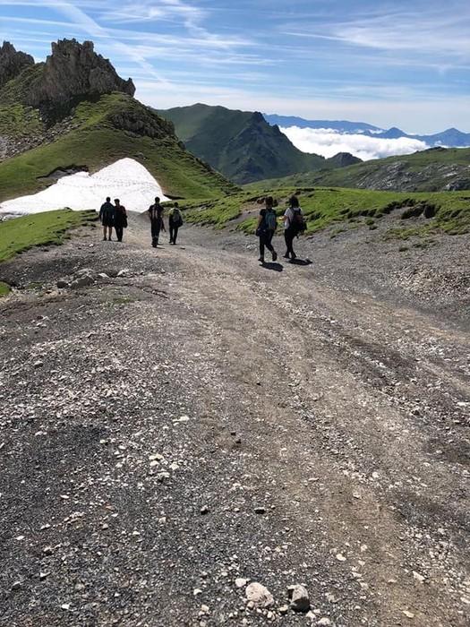 Picos de Europa bisitatu dute Matxinkortako kideek - 10