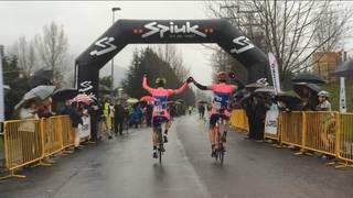 Oier Lazkanok irabazi du Aiara Bira eta Autocars Sagales taldeak lortu du azkenengo etapa