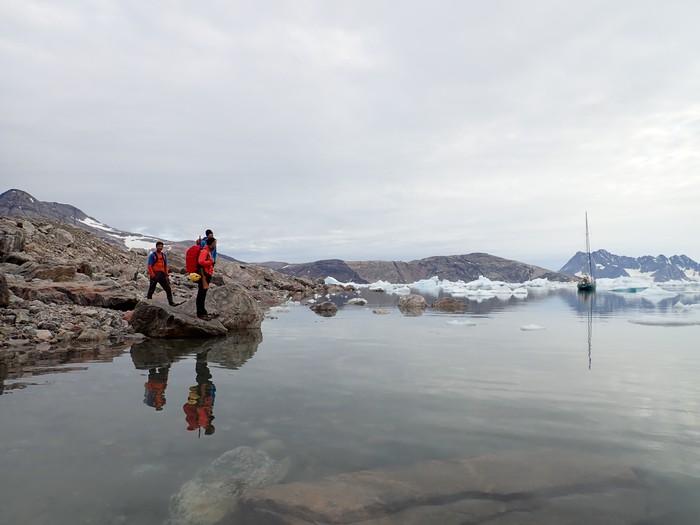 [UDARIKLIK] Groenlandian eskalatzeko icebergak ekidin behar izan ditu Zigor Egiak - 10