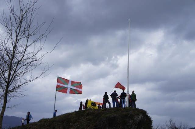 Nafarroako Erresumaren ikurra Arakaldon - 29