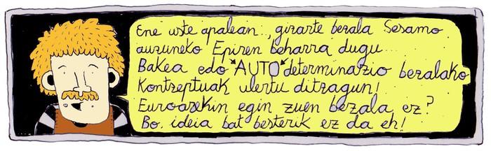 KOMIKIA: Bakea eta autodeterminazioa