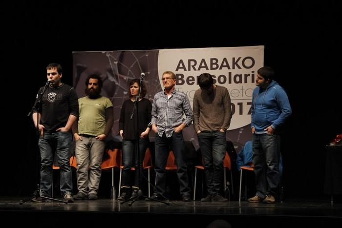 Arabako Bertsolari Txapelketako finalean egongo da Serapio Lopez