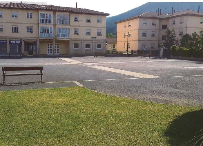Lehendakari Agirre plaza konpontzen hasiko dira hemendik hilabete batera
