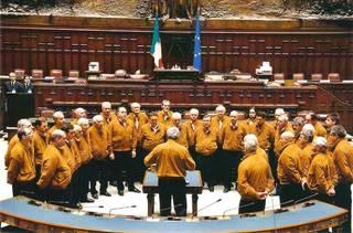 Italiako Coro Bismantova bisitan dugu Andere abesbatzaren eskutik
