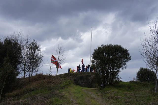 Nafarroako Erresumaren ikurra Arakaldon - 5